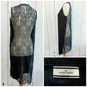 By Malene Birger LBD Black Lace Dress Size 38